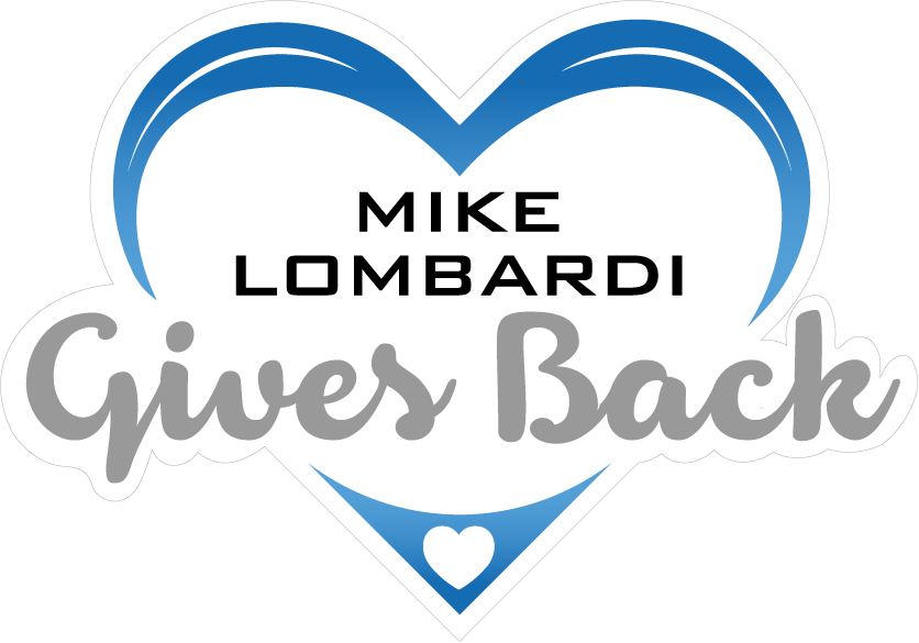 Mike Lombardi Gives Back Logo