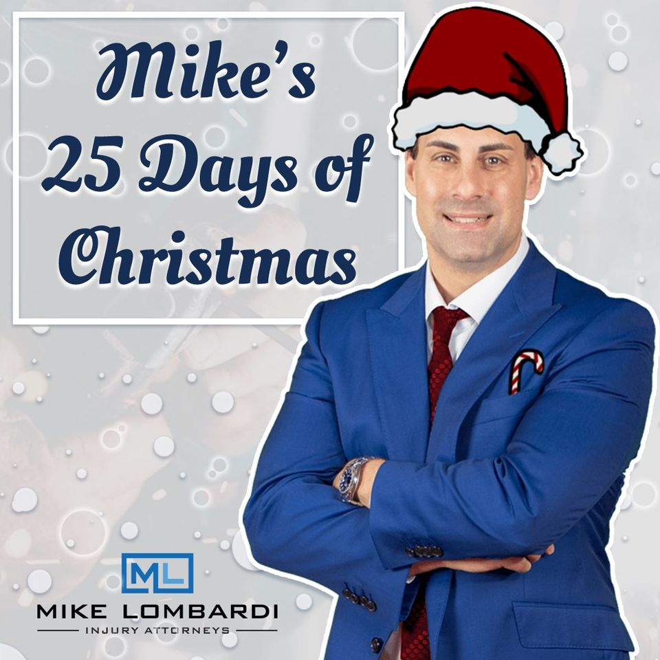 Mike Lombardi Injury Attorneys 25 Days of Giving